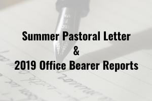 Congregational Letter